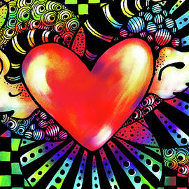 Soaring Heart Coloration by Nada Meeks