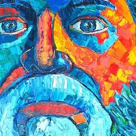 Socrates Portrait by Ana Maria Edulescu