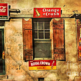 John Stephens - Coca Cola With Other Soda Pop Signs
