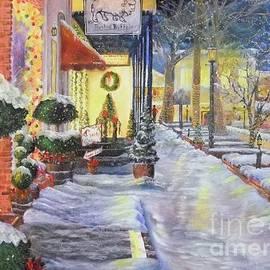Nicole Angell - Soft Snowfall in Dahlonega Georgia an Old Fashioned Christmas