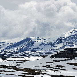 Sognefjell mountain by Terence Davis