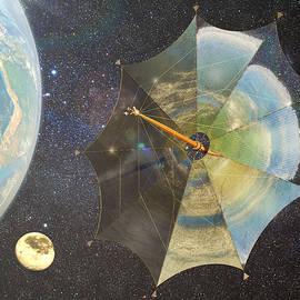 Frans Blok - Solar Sail Johannes Kepler on its way to Jupiter
