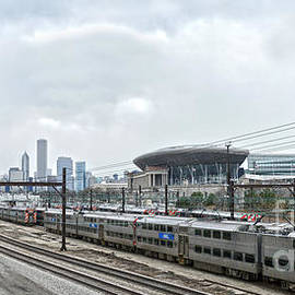 Soldier Field, Chicago by Catherine Sherman