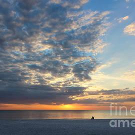 Solitude Sunset by Liesl Walsh