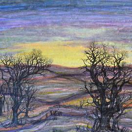 Regina Valluzzi - Somber Landscape