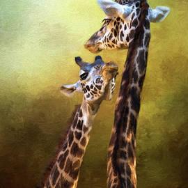 Jordan Blackstone - Someone To Look Up To - Wildlife Art