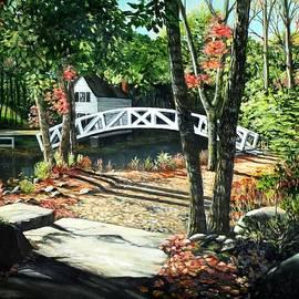 Eileen Patten Oliver - Somesville Bridge, Maine