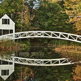 John Greim - Somesville Footbridge