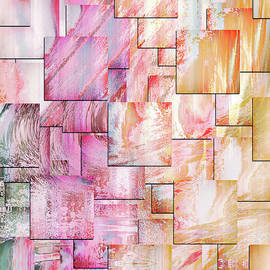 Something In The Air Contemporary Abstract Art by Georgiana Romanovna