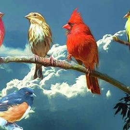 John Haldane - Songbirds ala Van Gogh