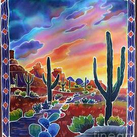 Harriet Peck Taylor - Sonoran Desert Sunset