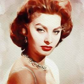 Sophia Loren,Vintage Movie Star - John Springfield