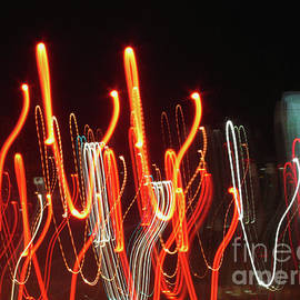 Carol F Austin - Dancing in the Streets Abstract Painting with Light