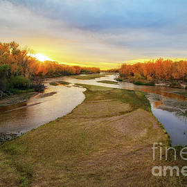 South Platte At North Platte by Kevin Anderson
