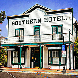 Southern Hotel - Perris by Glenn McCarthy Art and Photography