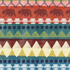 Southwest with Bears- Art by Linda Woods - Linda Woods