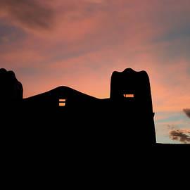 Gregory Ballos - Santa Fe Sunset Silhouette
