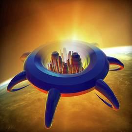 Space City 1 by Lilia D
