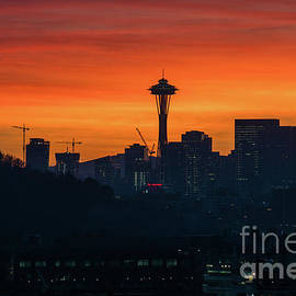 Mike Reid - Space Needle Sunrise