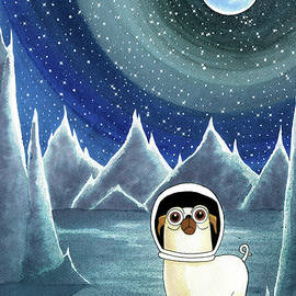 Andrew Hitchen - Space Pug