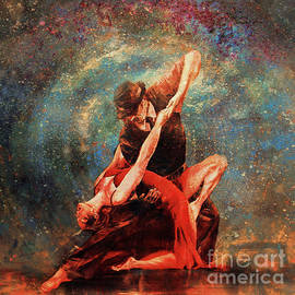 Spanish Dance art 45ta by Gull G