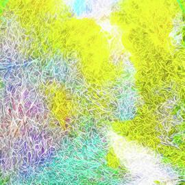 Joel Bruce Wallach - Sparkling Pathway - Trail In Santa Monica Mountains