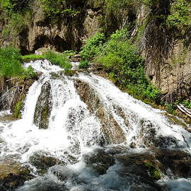 Spearfish Waterfalls by Pamela Pursel