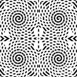 Spiral Abstract 3 by Barbara Moignard