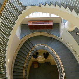 Spiral Staircase by Arlane Crump