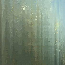 Spires Through A Window by Gina Harrison