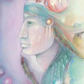 Spirit - Amerindian  by Naike Jahgan
