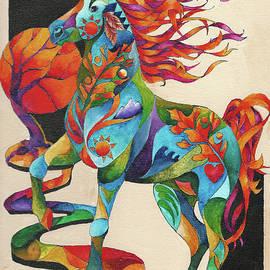Spirit Horse Totem by Sherry Shipley