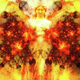 Spiritual Energy by KaFra Art