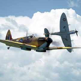 J Biggadike - Spitfire - Desert Air Force