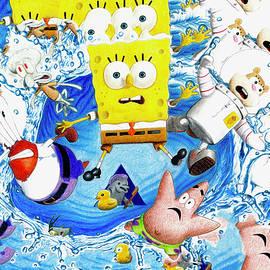 Nikolai Jonasson - Sponge Out Of Water Drawing Pattern