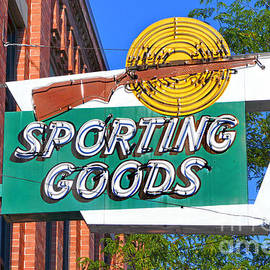 Catherine Sherman - Sporting Goods Sign