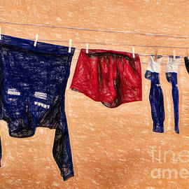 Sue Melvin - Sports Day Laundry