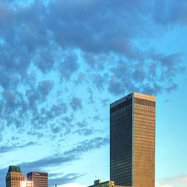 Gregory Ballos - Spotted Clouds over The Tulsa Skyline