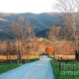 Spring at Cades Cove in The Great Smoky Mountains by Roe Rader