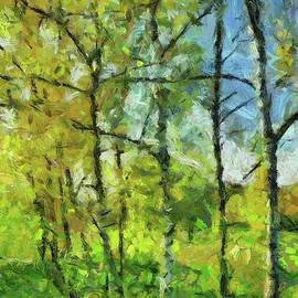 Dragica Micki Fortuna - Spring Birches