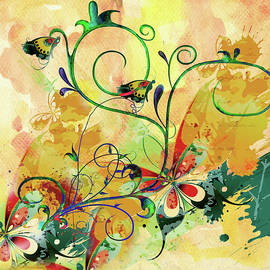 Georgiana Romanovna - Spring Bliss Semi Abstract Design