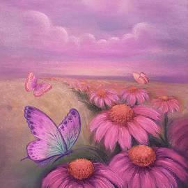 Yoonhee Ko - Spring Daydream - warm color