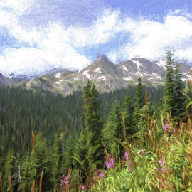 Spring Mountain Flowers by Lorraine Baum