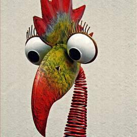 Sarah Loft - Spring Neck Bird in Metal