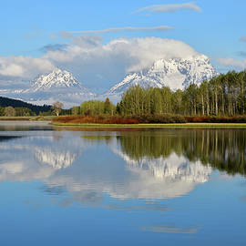 Michael Morse - Spring Reflections At Oxbow Bend