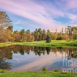 Claudia M Photography - Spring reflections on the golf course