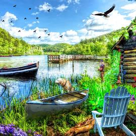 Spring Serenity at Lakeside by Debra and Dave Vanderlaan