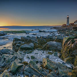 Spring Sunrise at Portland Head - Rick Berk