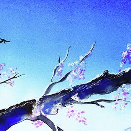 Spring Tree Blue Sky Landscape  - Irina Sztukowski