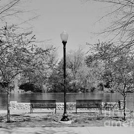 Springtime Overlook           St. Joseph River            Indiana by Rory Cubel